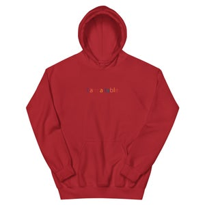 """Image of i am a table 'Fall Colors"""" Hoodie"""