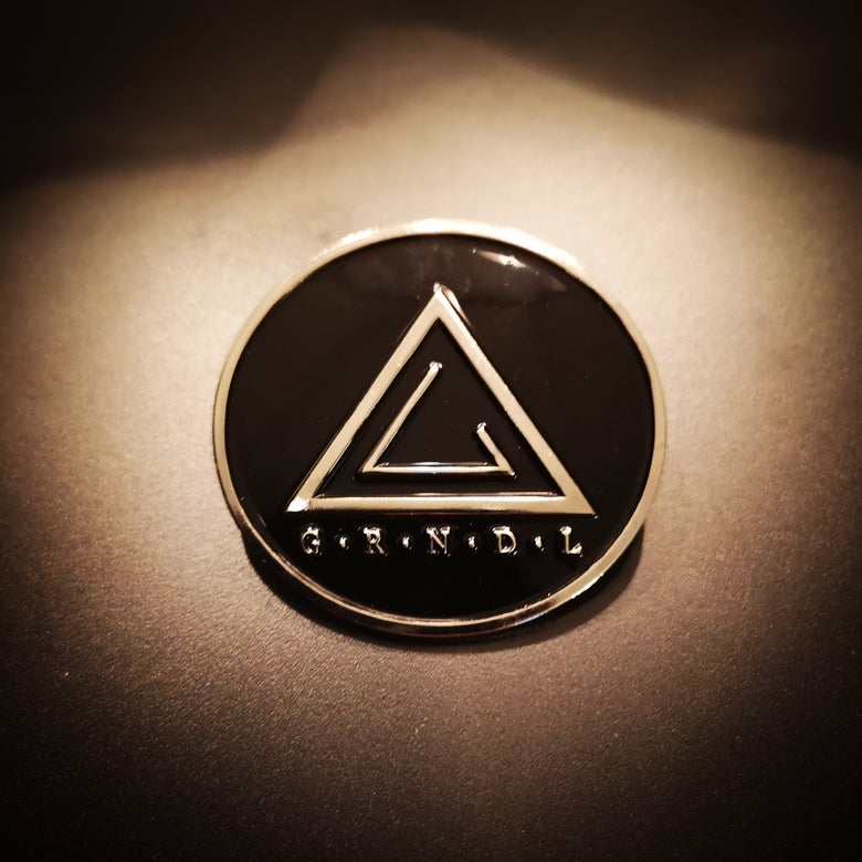 Image of Enamel Pin - GRENDEL Logo circle