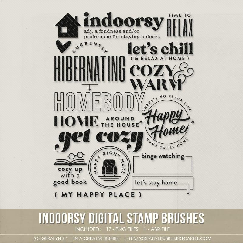Image of Indoorsy Stamp Brushes (Digital)