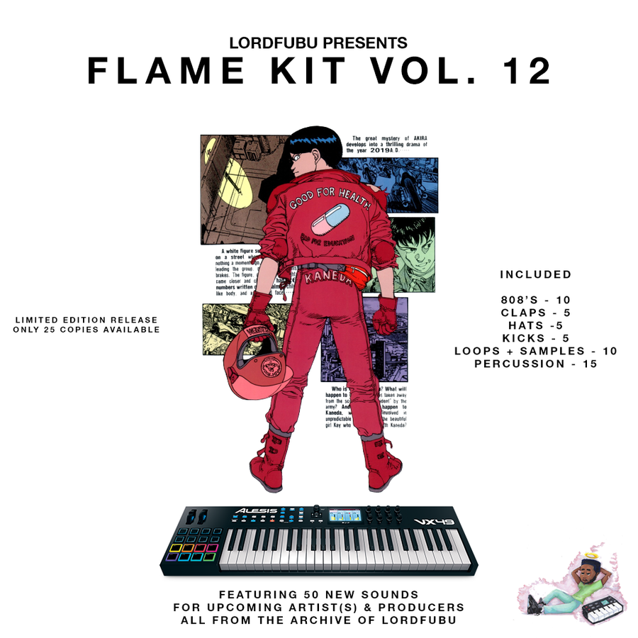 Image of FLAME KIT VOL. 12 (LIMITED EDITION)