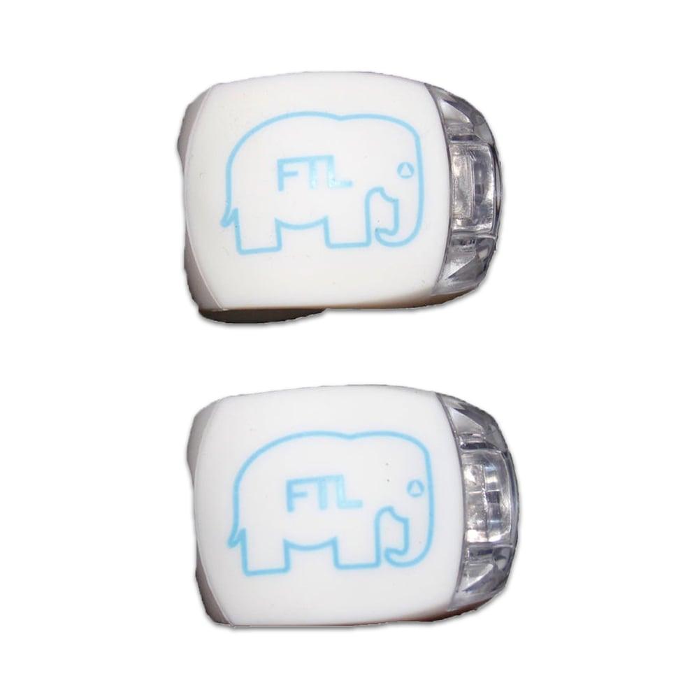 Image of Elephant Bike Lights (Pack of 2) White