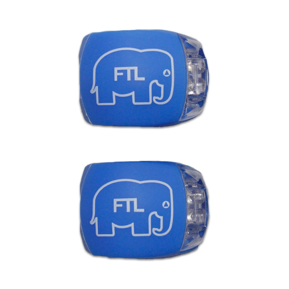 Image of Elephant Bike Lights (Pack of 2) Blue