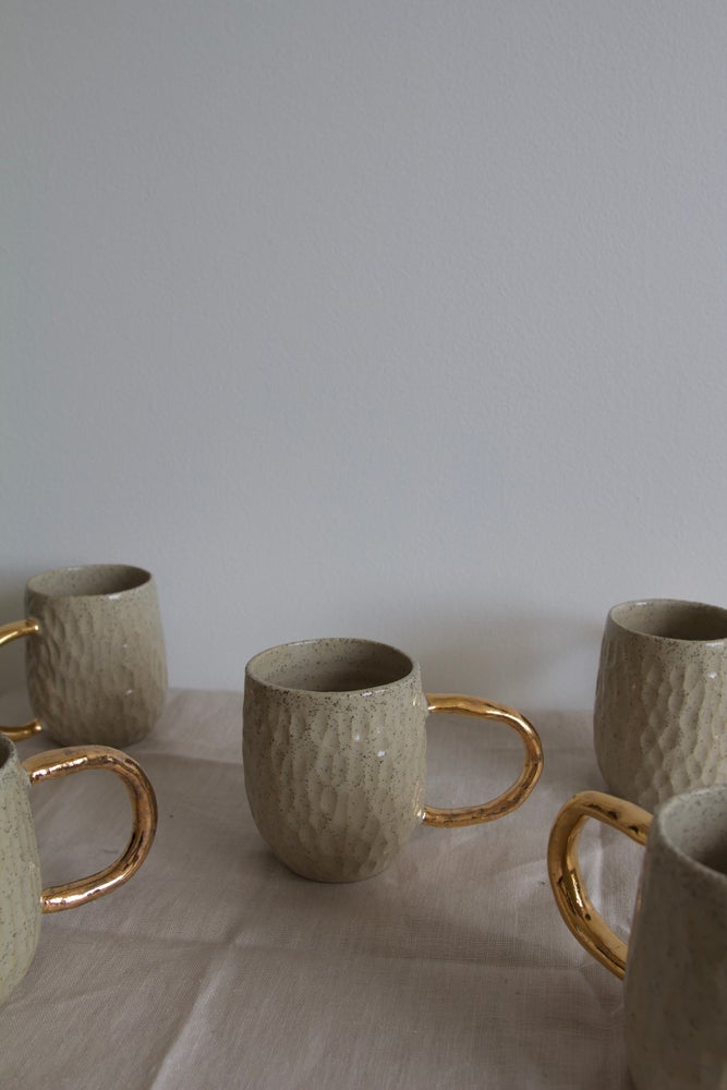 Image of Carved Mugs