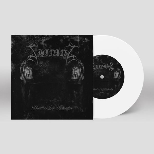 "Image of Shining ""Submit To Self-Destruction"" 7"" (white)"