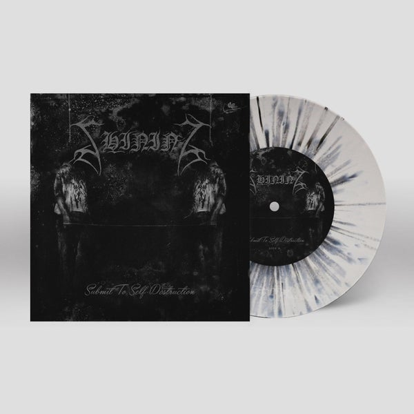 "Image of Shining ""Submit To Self-Destruction"" 7"" (splatter)"