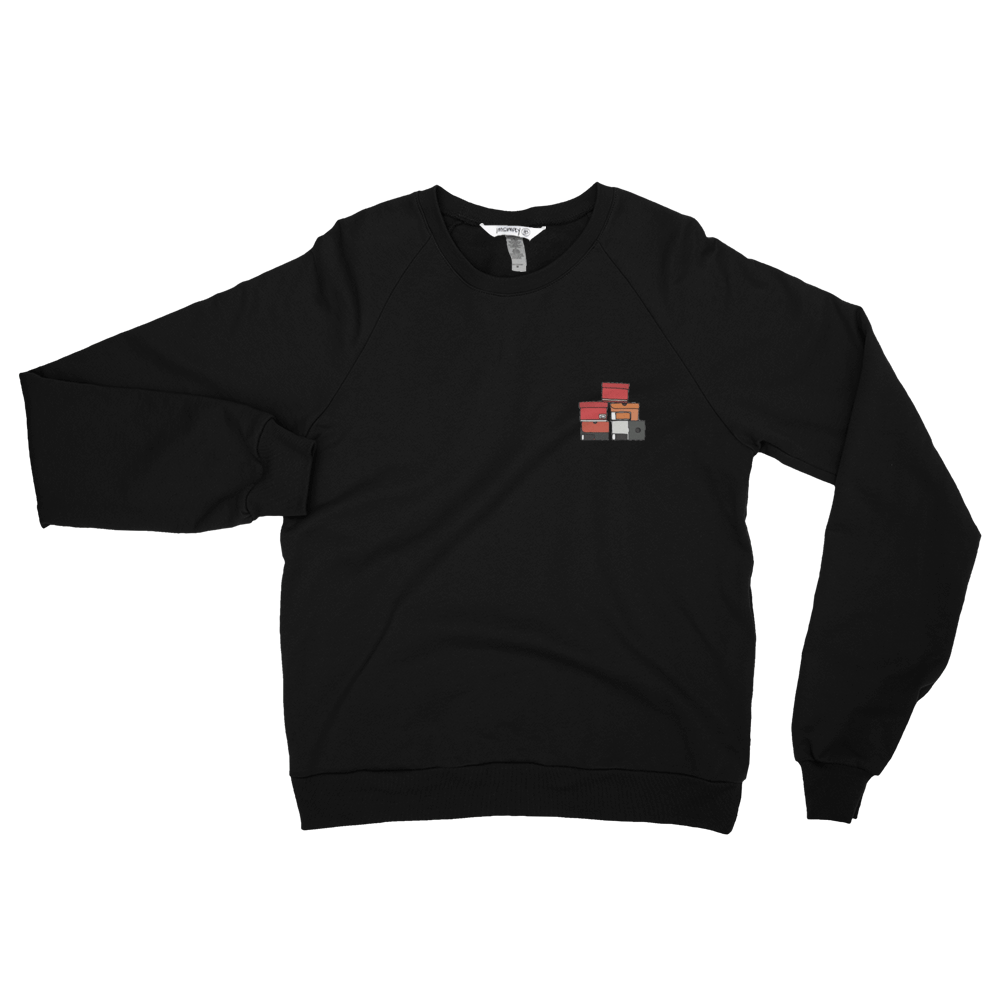 Simply Stacked Sweatshirt (Black)