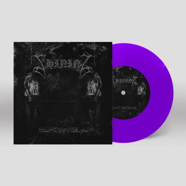"""Image of Shining """"Submit To Self-Destruction"""" 7"""" (purple)"""