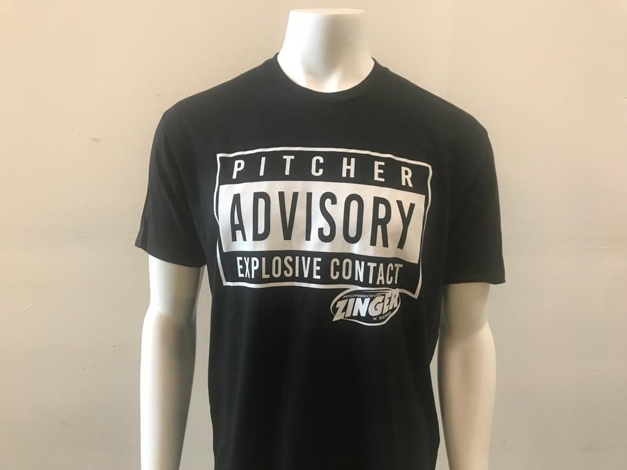 Image of Zinger PITCHER ADVISORY Next Level 60/40 T-Shirt