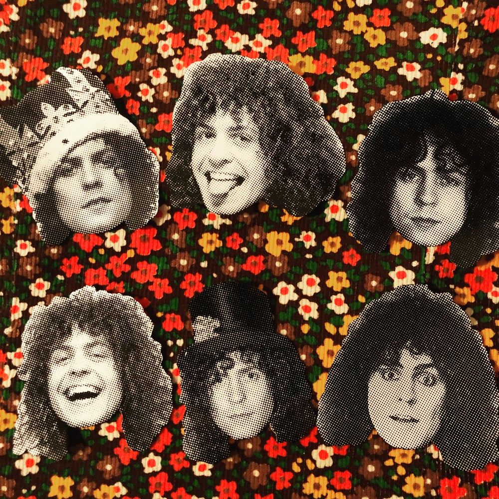 Image of Marc Bolan sticker pack