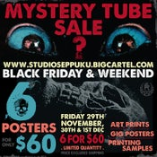Image of MYSTERY TUBE SALE 2019 - 6 FOR $60