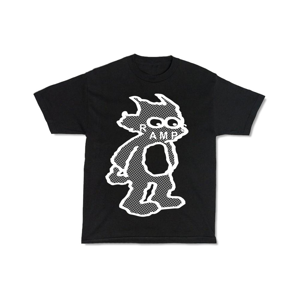 Image of SCRATCHY RAMPS T-SHIRT - BLACK