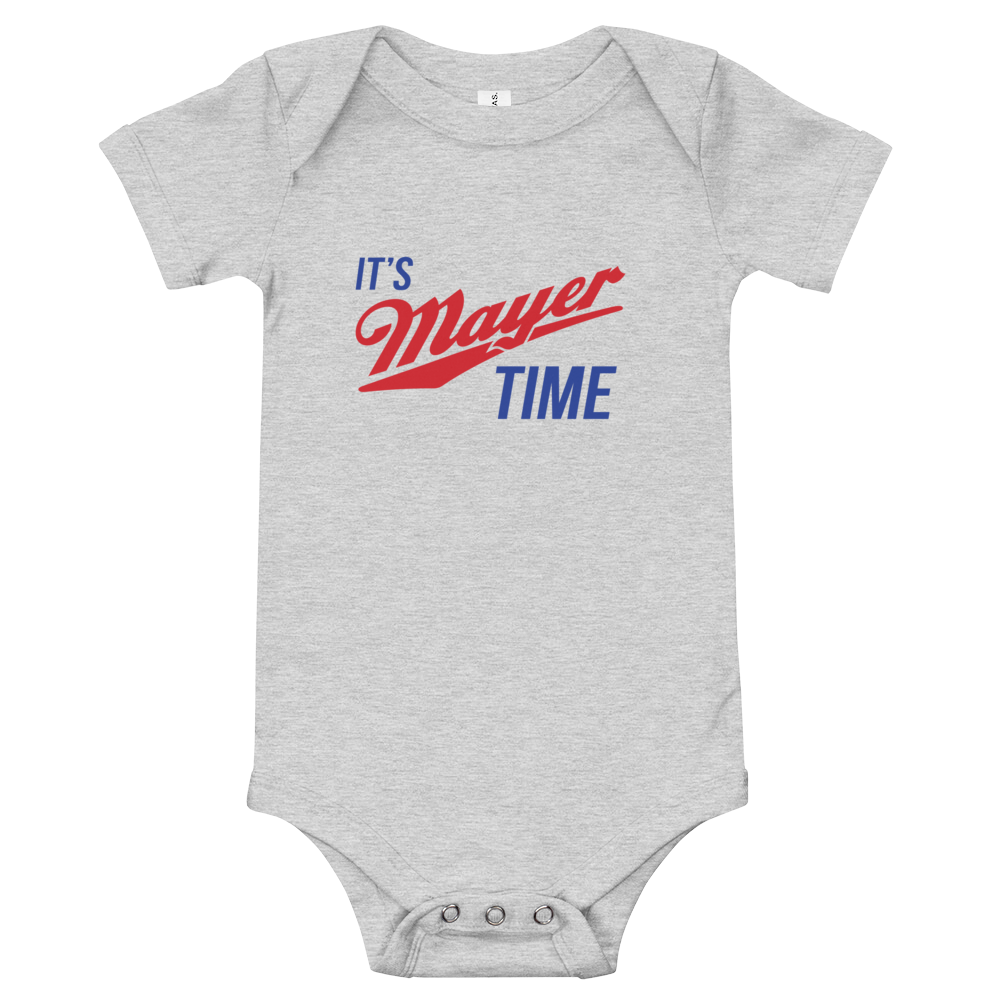 Mayer Time Baby Jersey Onesie!