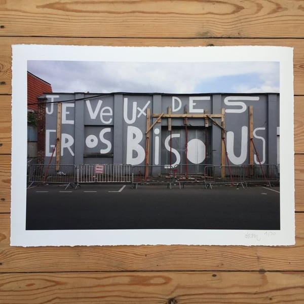 """Image of Digigraphie 32x45 """"Je veux des gros bisous"""""""