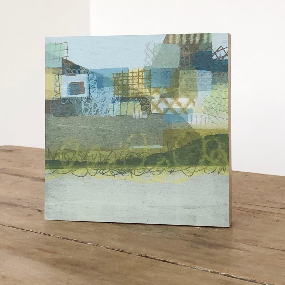 Image of Patchwork Fields - Print Block