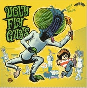 Image of 2XLP. The Ugly Fly Guys : Cult Of Buzzz.  Ltd Edition Yellow splatter vinyl.