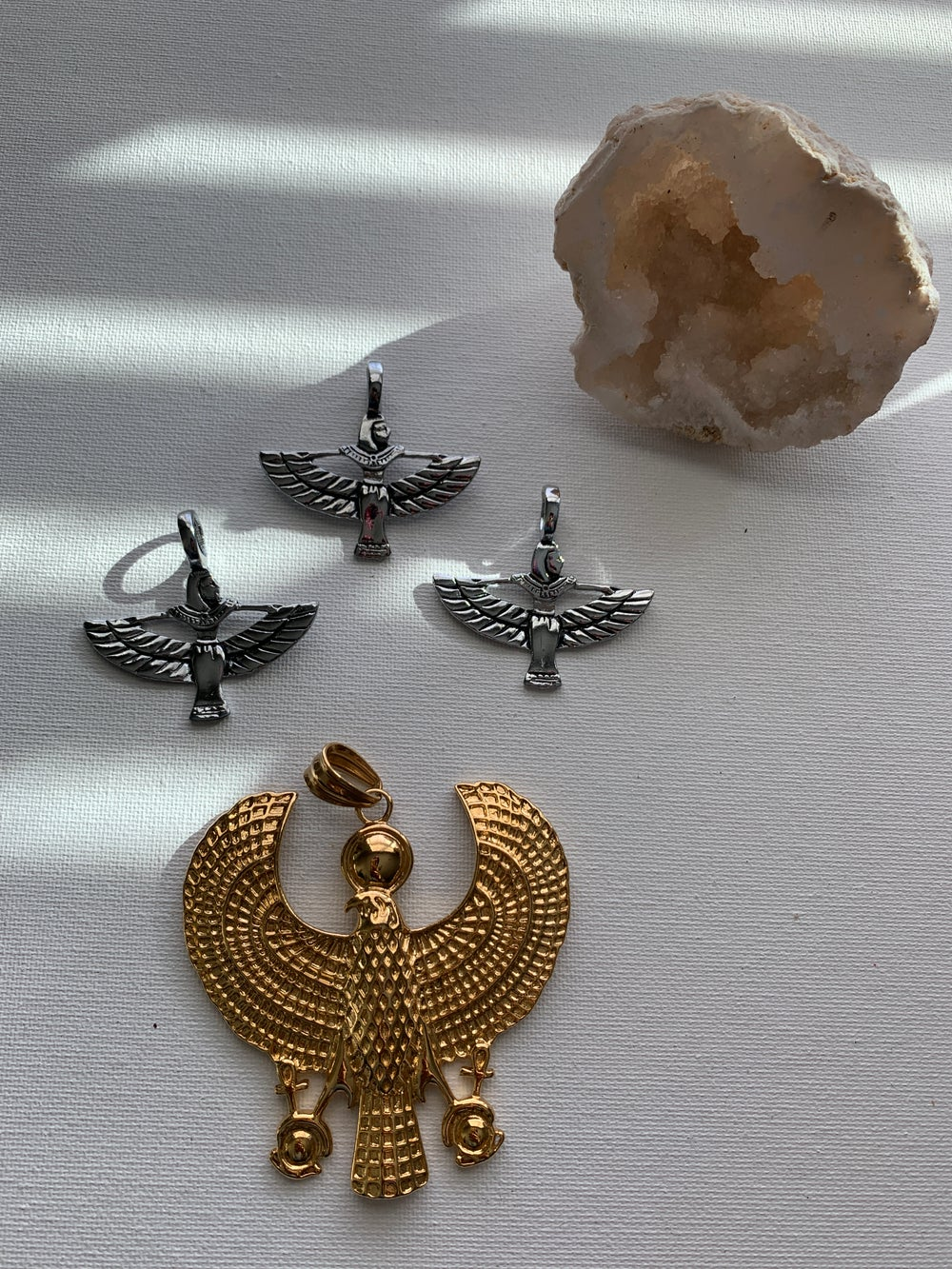 Image of WINGED PENDANT