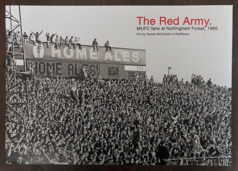 Image of Red Army, 1986 A3 poster