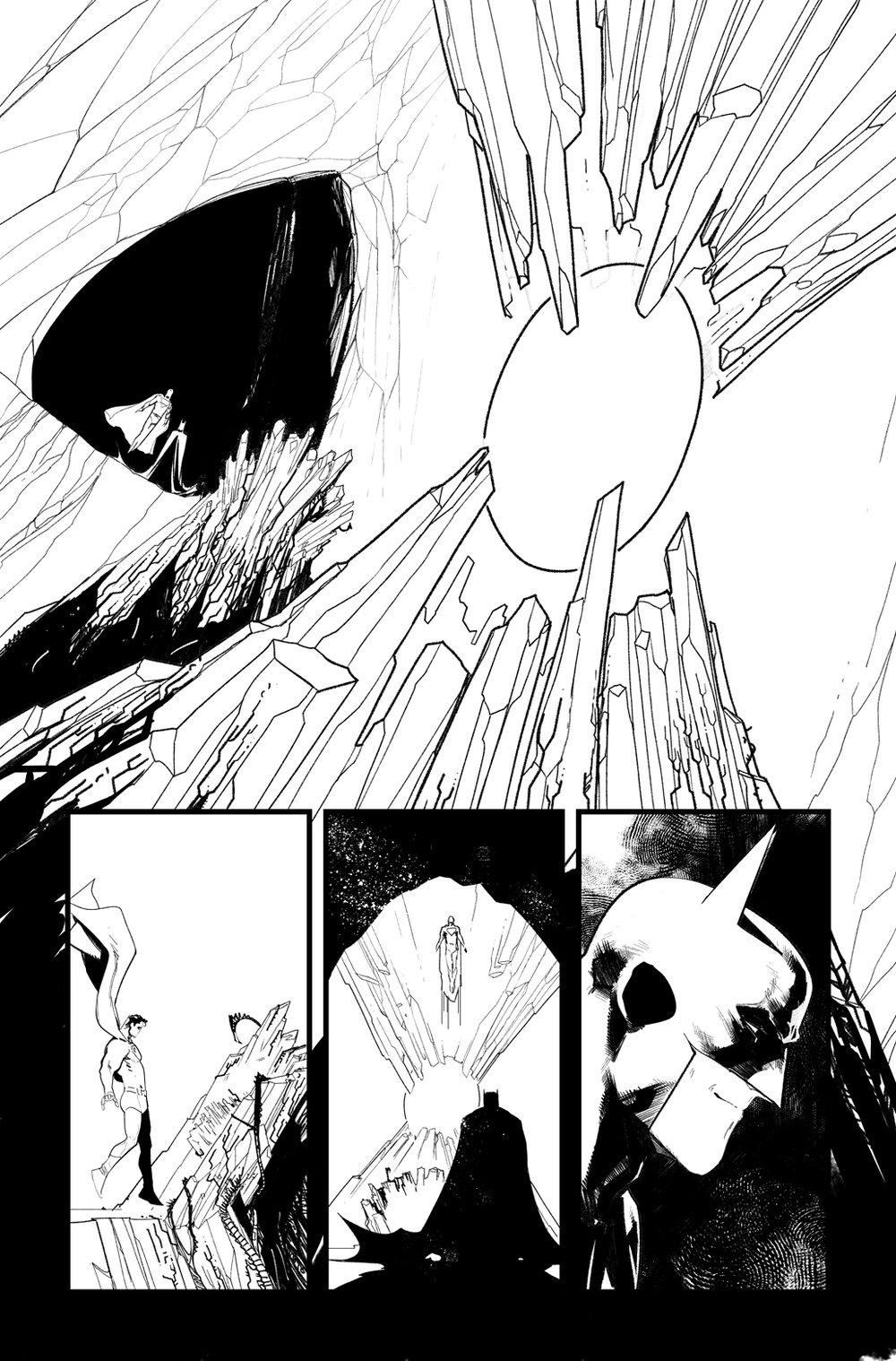Image of BATMAN/SUPERMAN #4 p.10 ARTIST'S PROOF