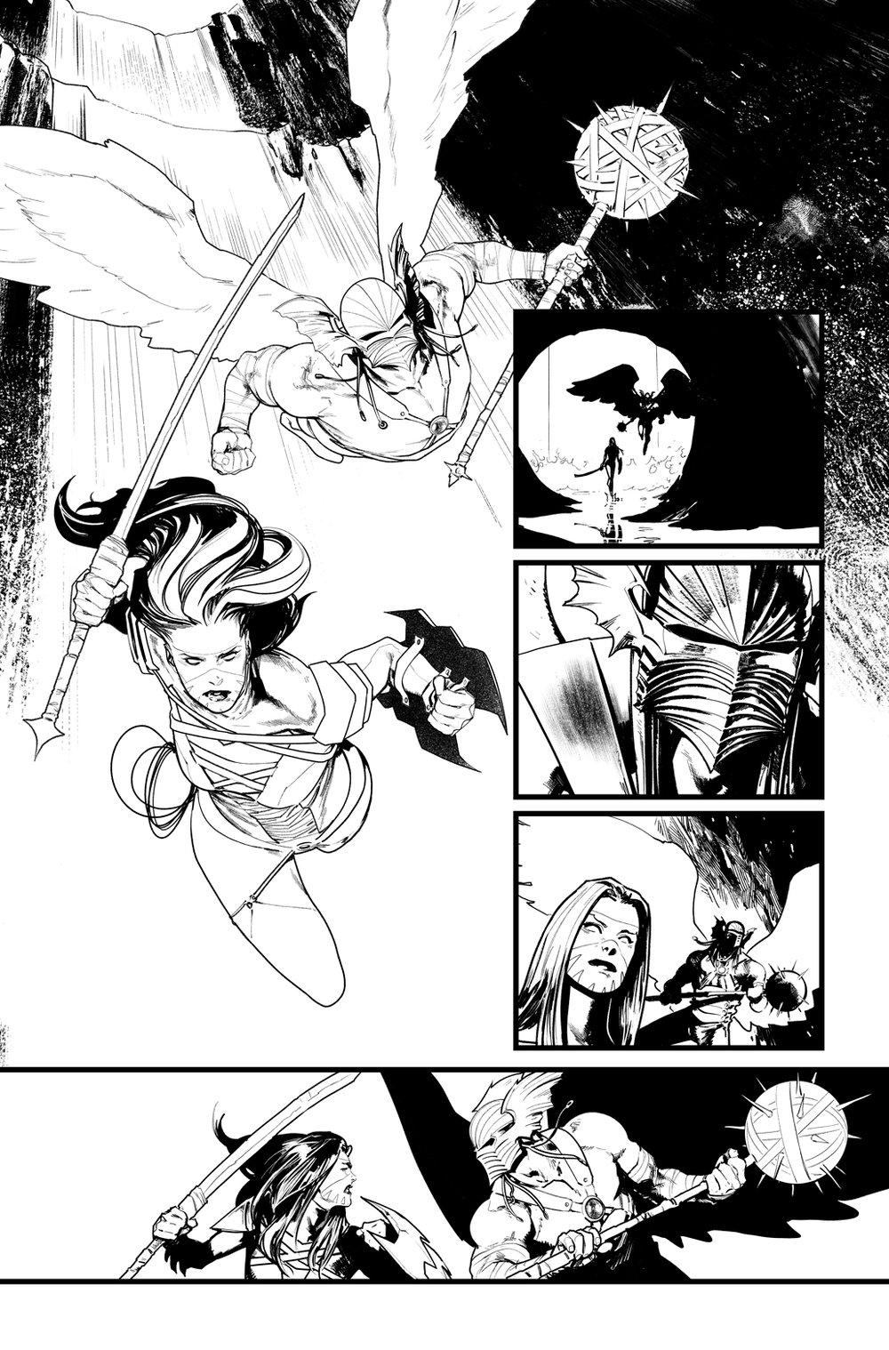 Image of BATMAN/SUPERMAN #4 p.11 ARTIST'S PROOF