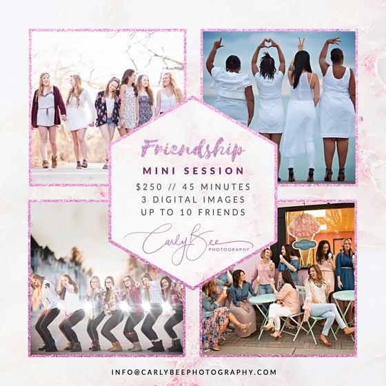 Image of 👯♀️ 2020 Friendship Mini Session 👯♀️