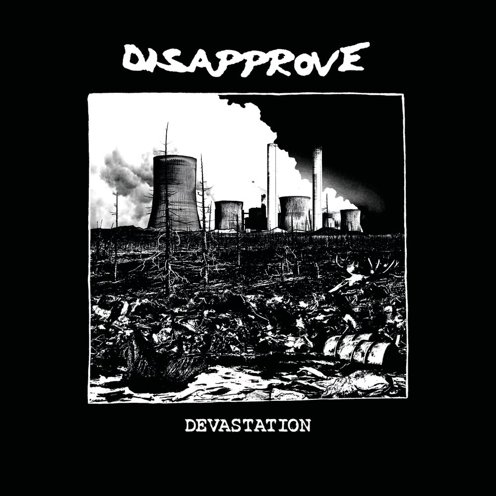 Image of Disapprove Devastation 12-inch black vinyl record