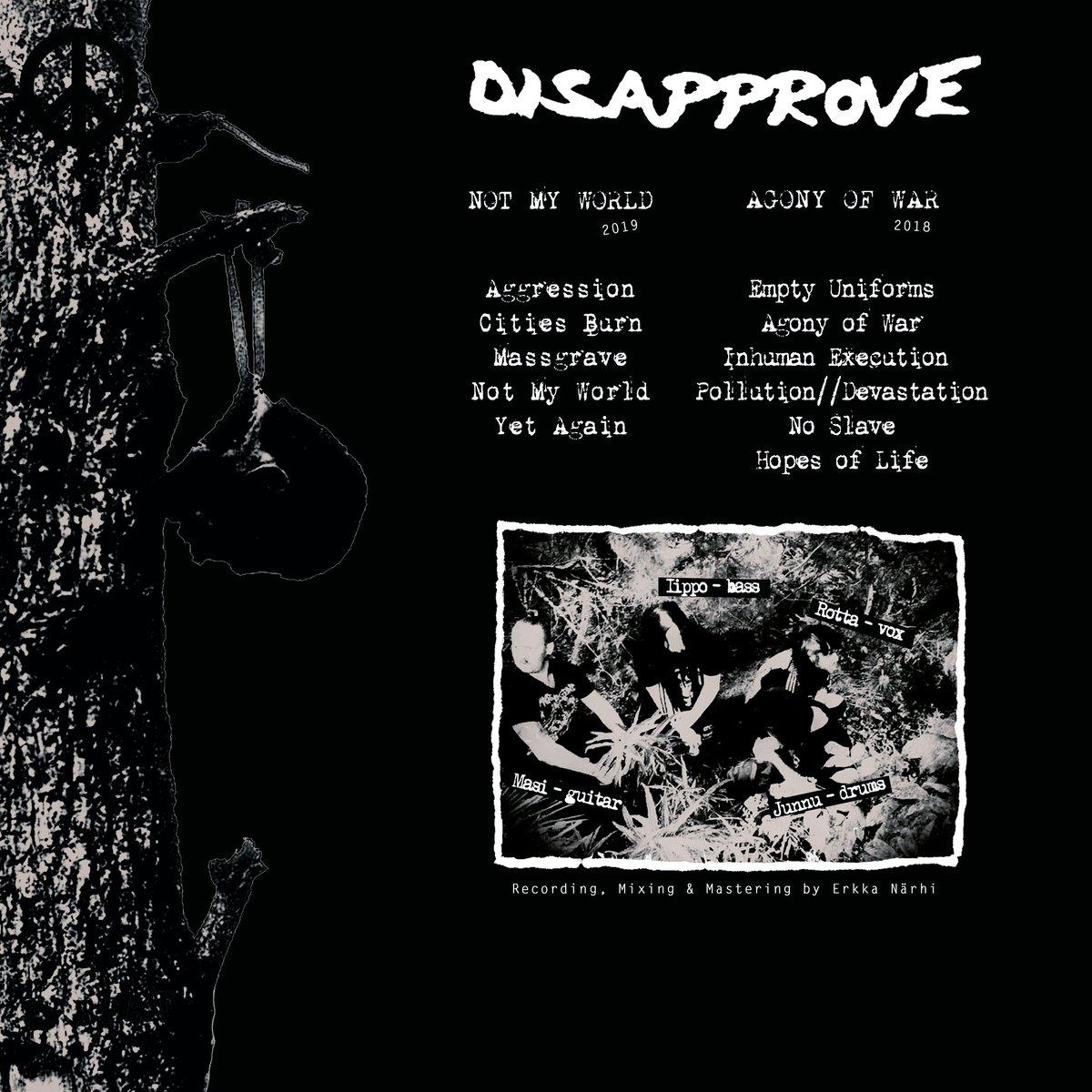 Image of Disapprove Devastation 12-inch black vinyl record