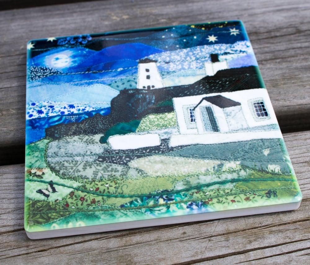 Image of Llanddwyn Ceramic Coaster