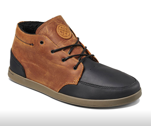 Image of ZAPATO REEF SPINIKER MID WT TAN/BLACK EN LIQUIDACION