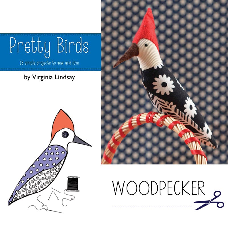 Image of Pretty Birds:  18 simple projects to Sew and Love