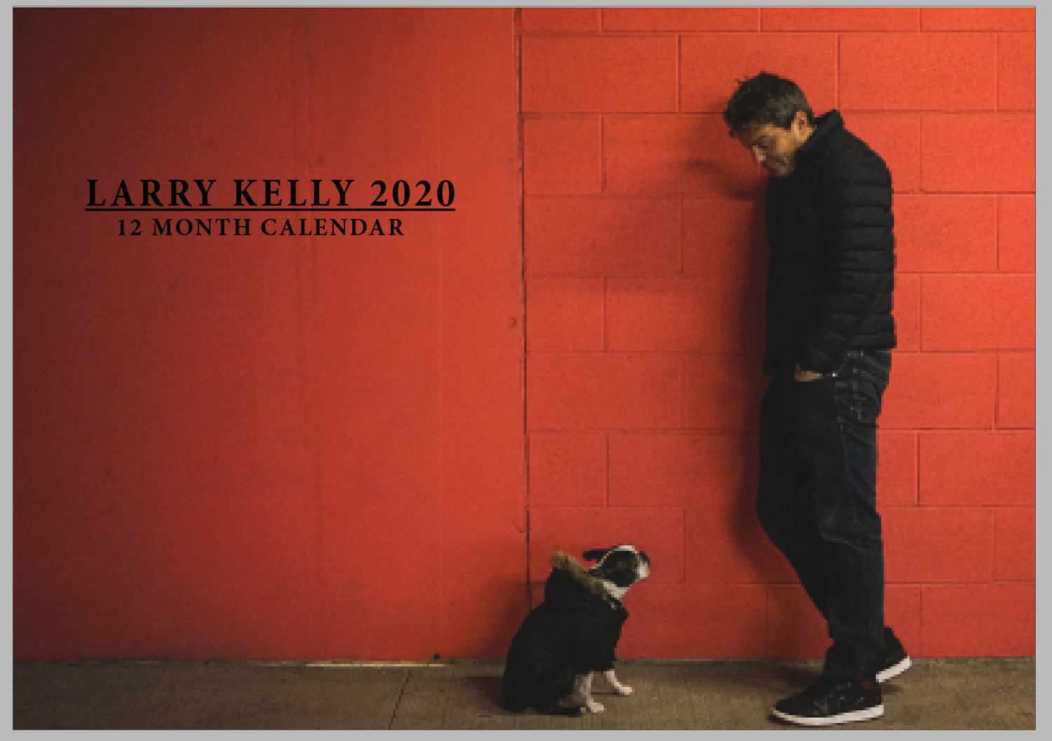 Image of Larry Kelly 2020 Calendar