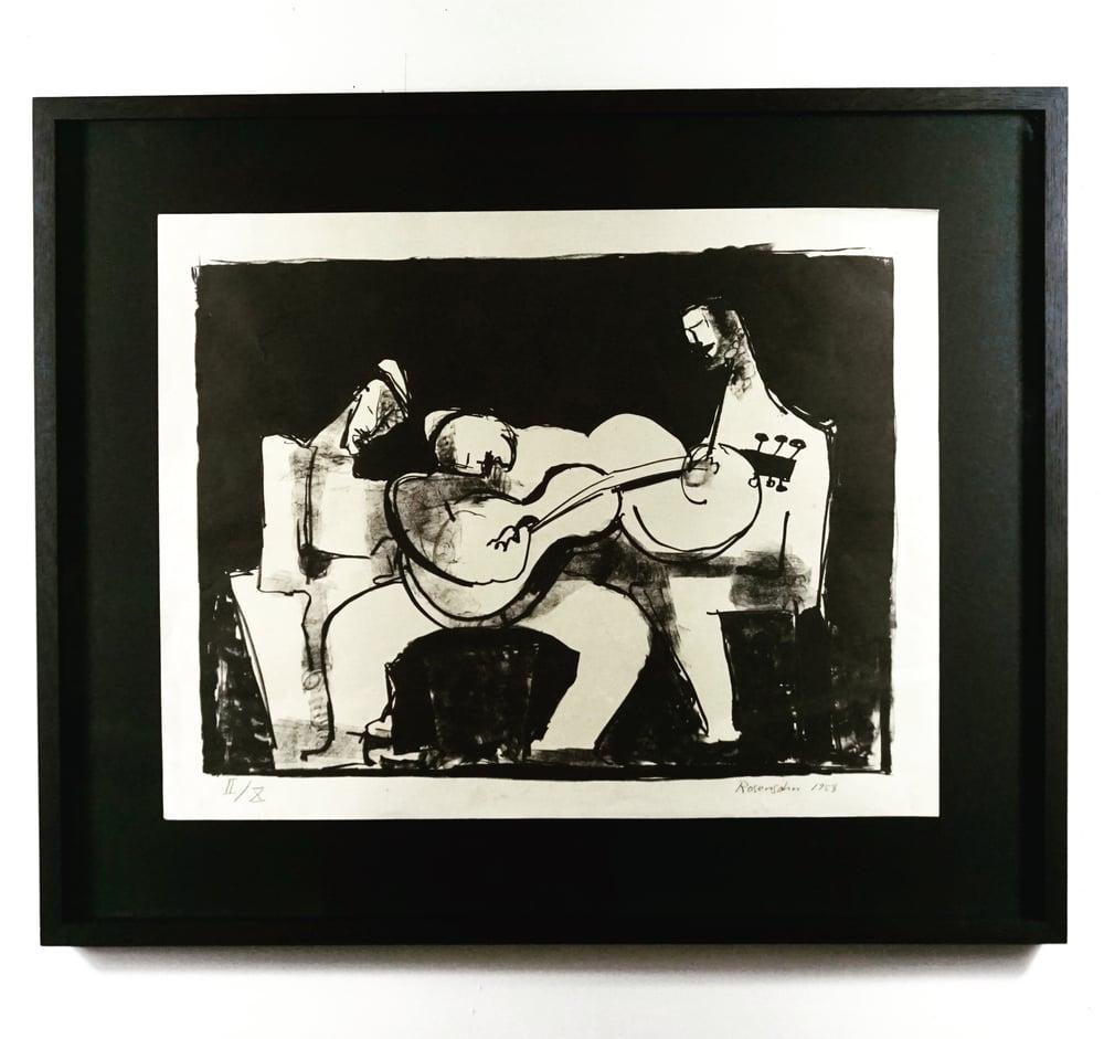 Image of 20/623 lennart rosensohn / the guitar player