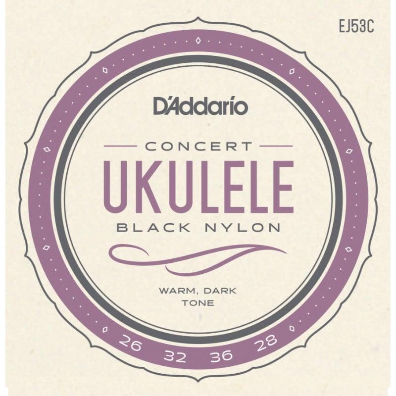 Image of Strings: D'Addario EJ53 Black Nylon