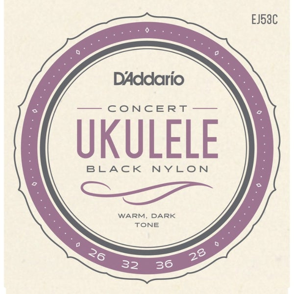 Image of Strings: D'Addario EJ53 Black Nylon