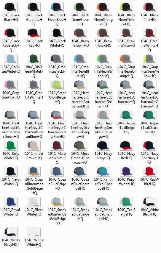 Image of Cap Embroidery - Bulk