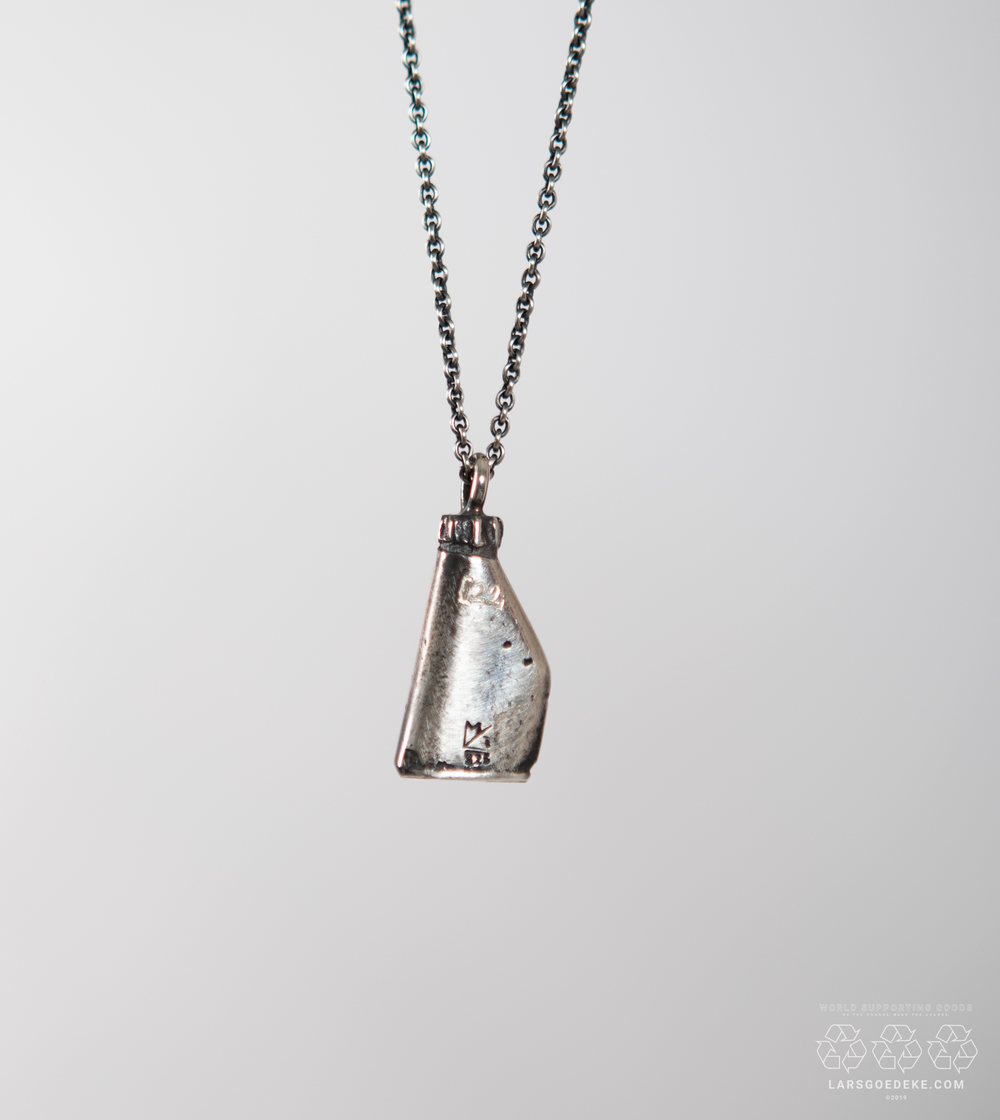 Image of KANISTER NECKLACE SILVER