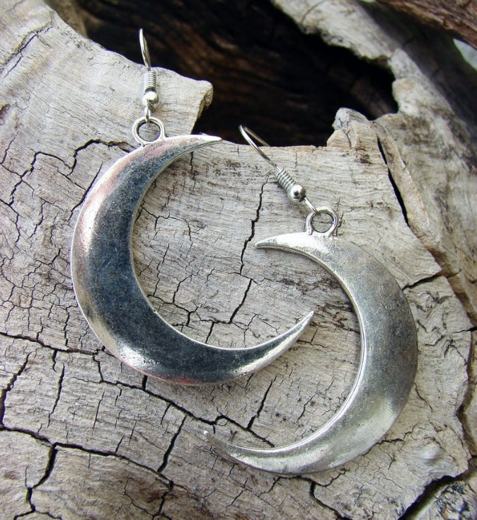 Image of MYSTICAL MOON EARRINGS