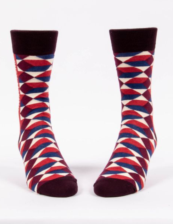 Image of Busy Making a Difference Men's Crew Sock