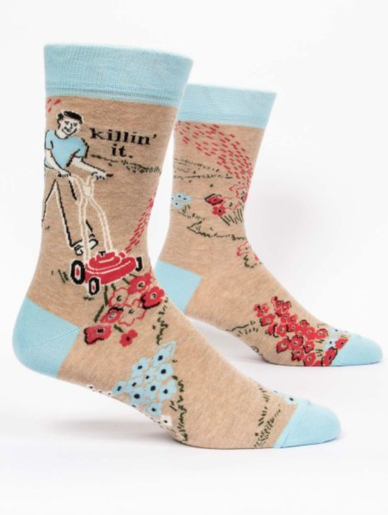 Image of Killin' It Men's Crew Sock