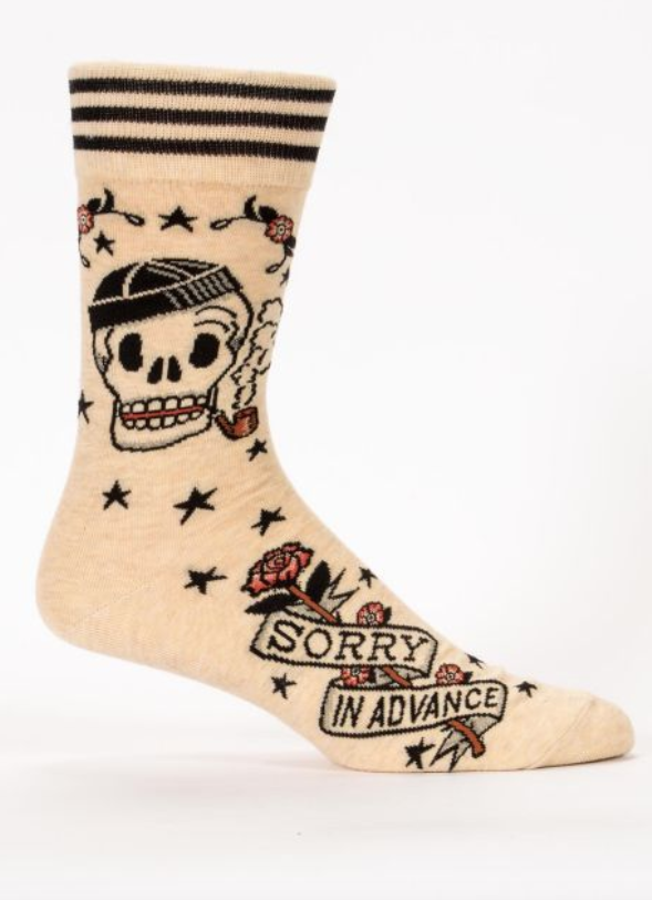 Image of Sorry in Advance Men's Crew Sock