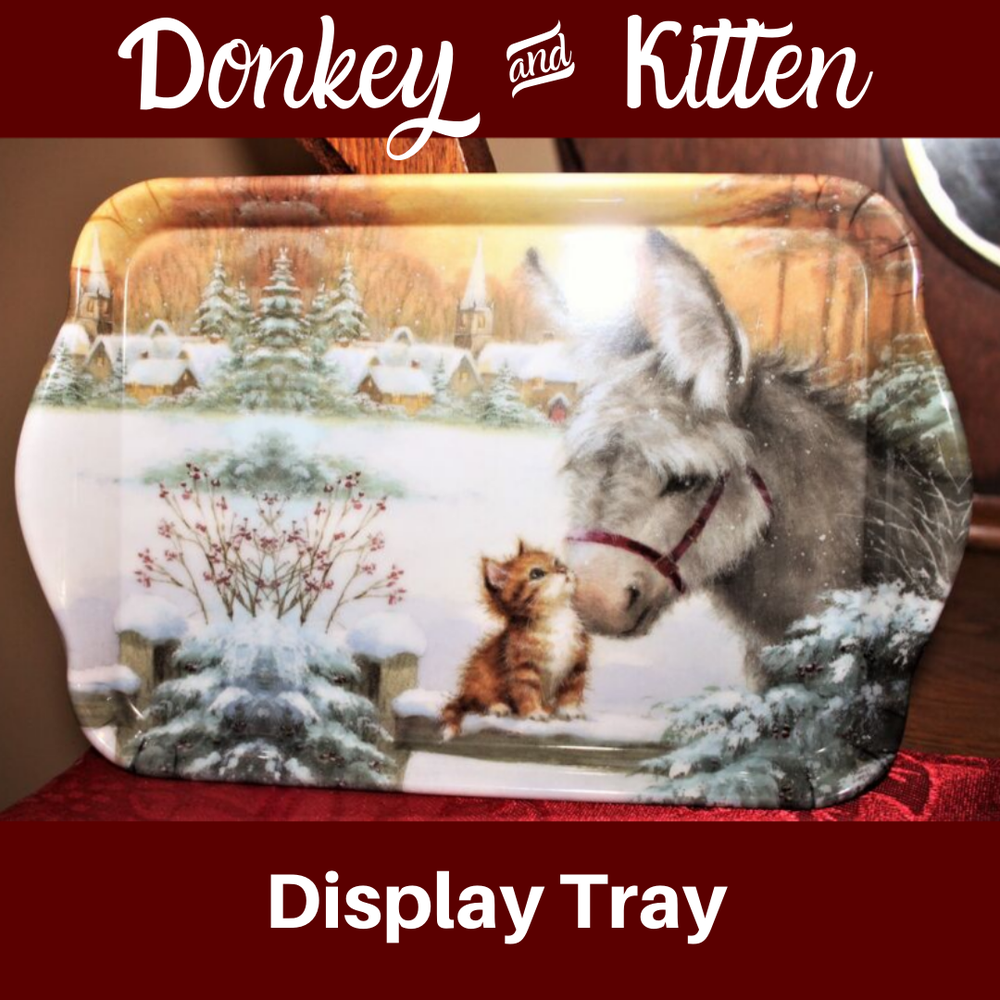 Image of Display Tray - Donkey & Kitten
