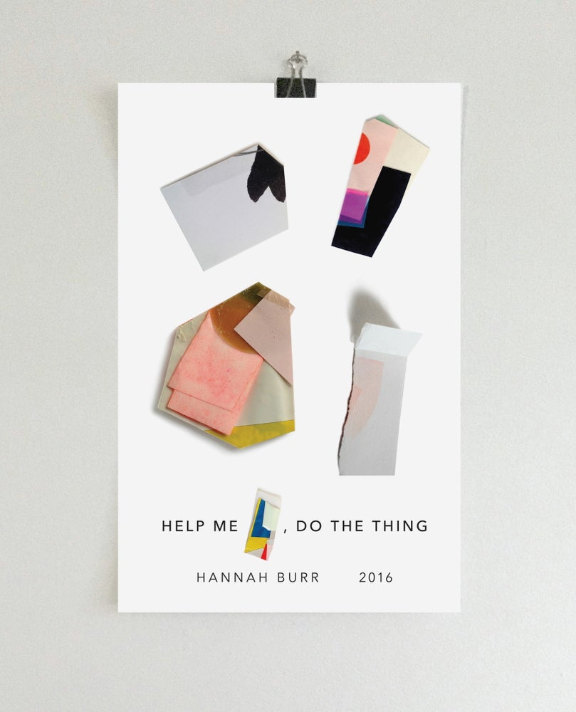 Image of 17 x 11 Help me [   ], do the thing. wall poster