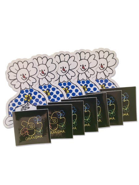 Image of Mixed Sticker 12 Pack