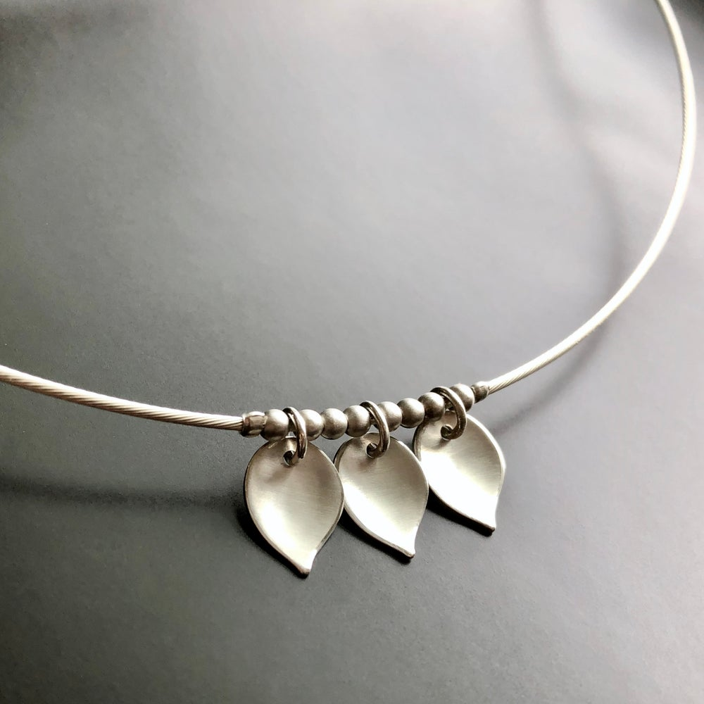 Image of Three Leaf Necklace