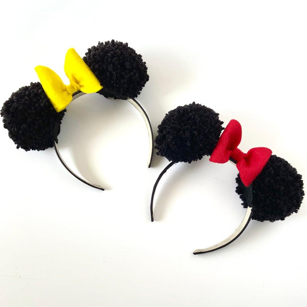 Image of Minnie Pom Ear Headband