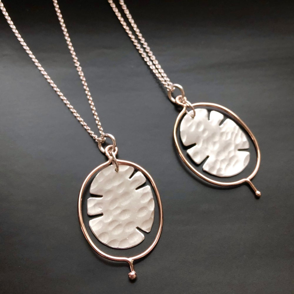 Image of Lunaria Pendant or Earrings