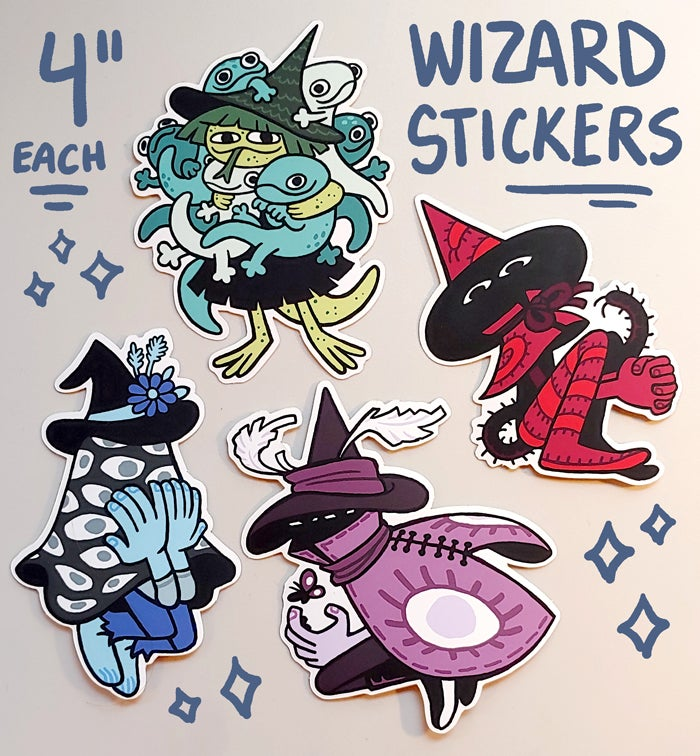 Image of Wizard Sticker Pack
