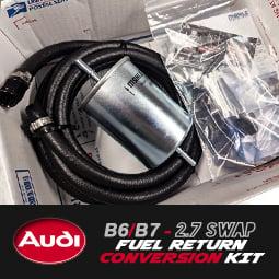 Image of PROJECTB5 - B6/B7 2.7 SWAP Fuel Return Conversion Kit