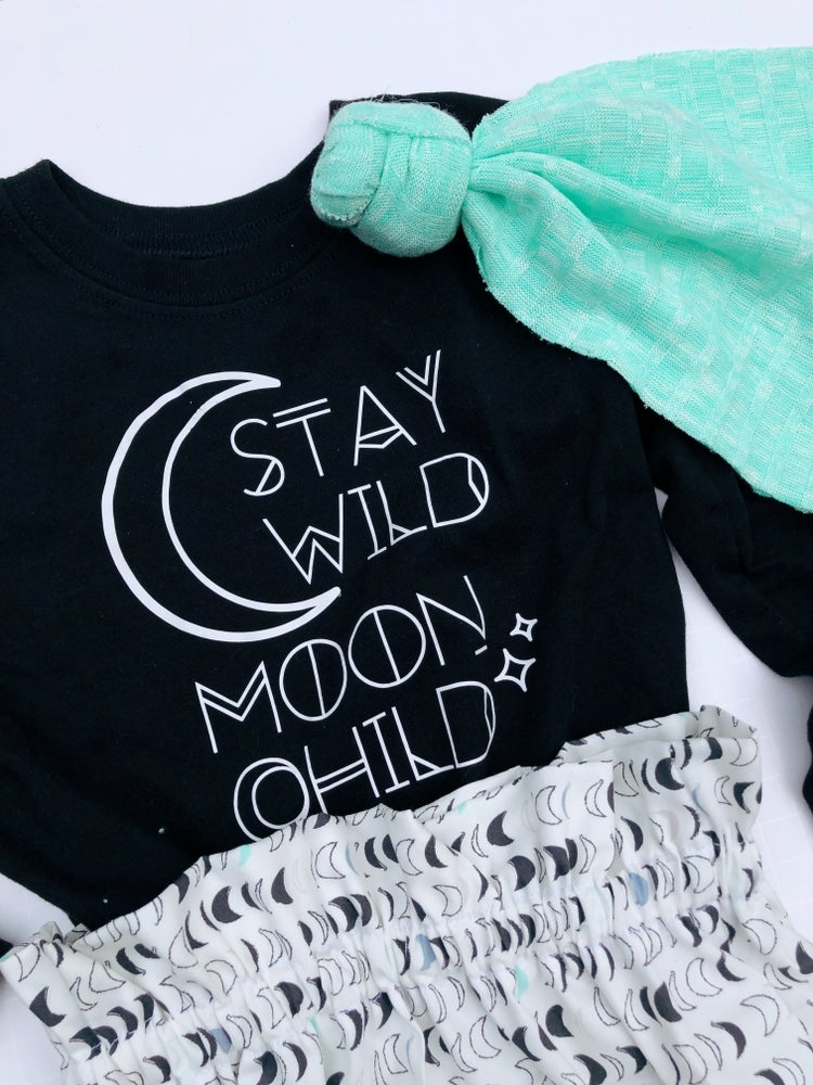 Image of Stay Wild Moon Child Tee