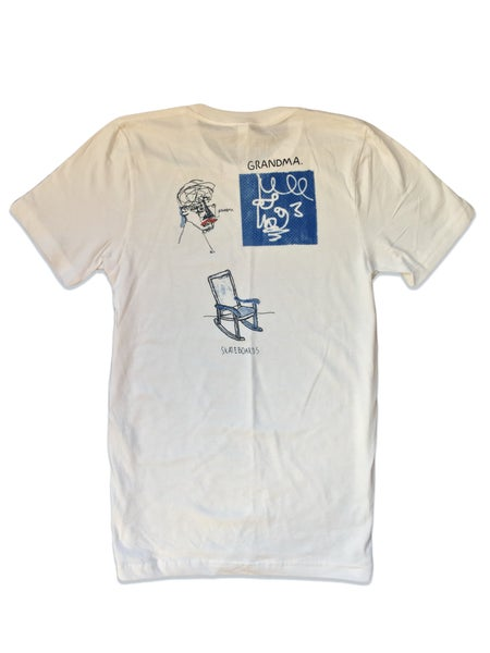 Image of Grandma Skateboards T-Shirt (White)
