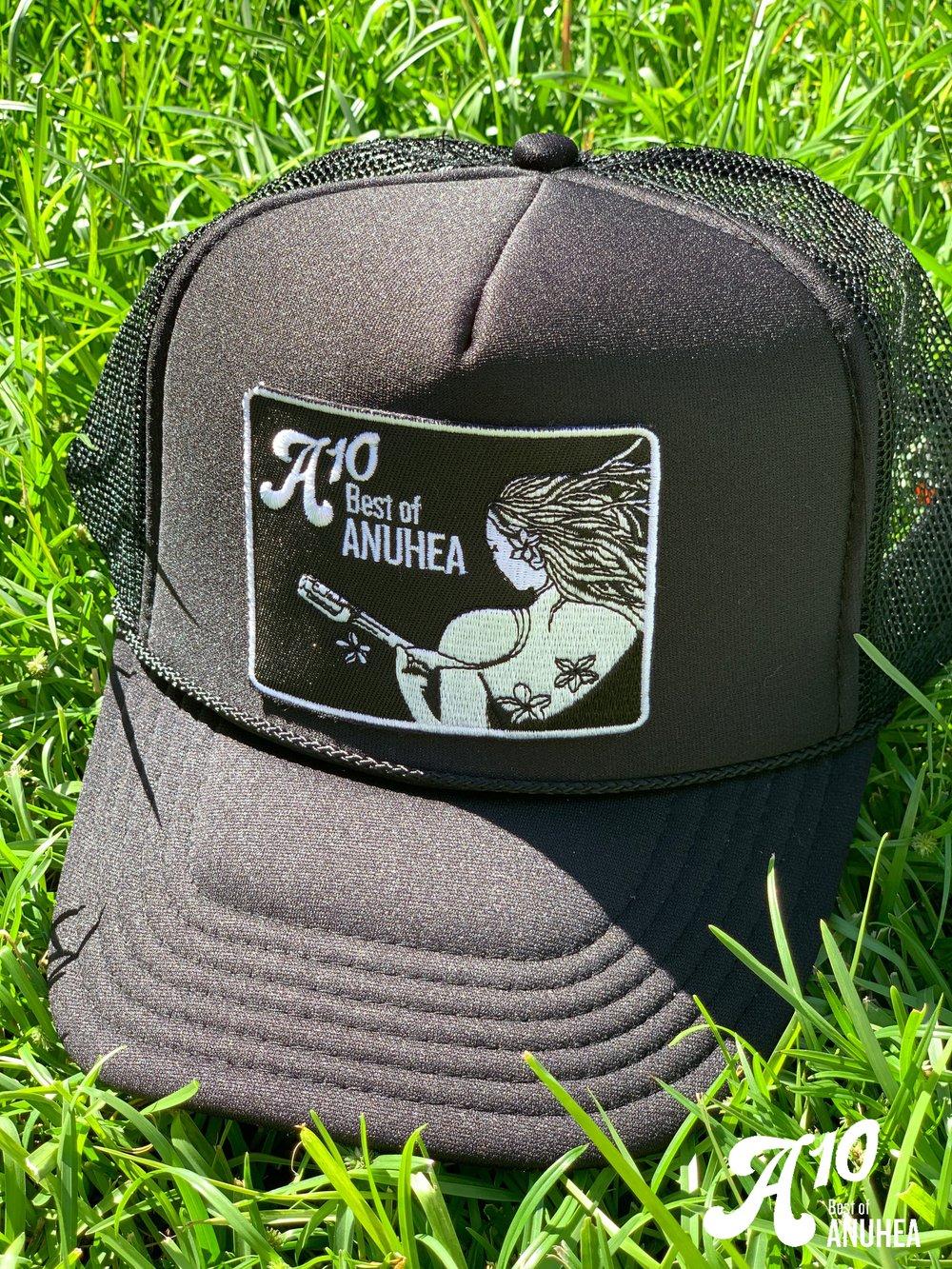 A10 Black Patch Mesh Hat